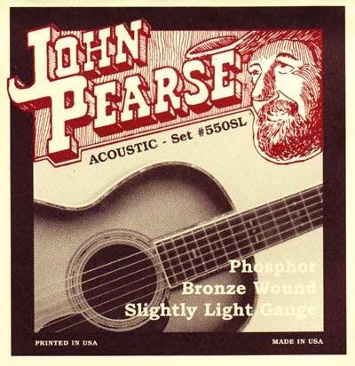 John Pearse - 550SL Phosphor Bronze