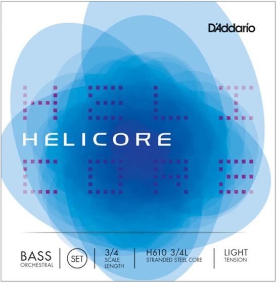 DAddario - HH610 3/4 Helicore Light Ten.