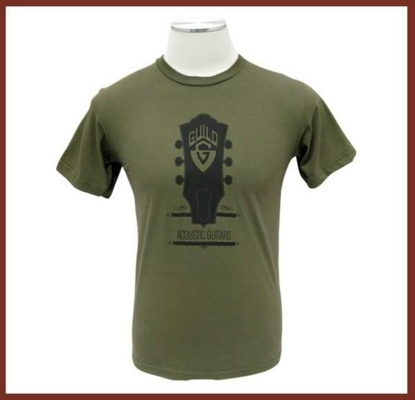 Guild - Headstock Tee Army S