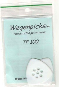 WEGENPICKS - WETF100 1.0mm triangular white