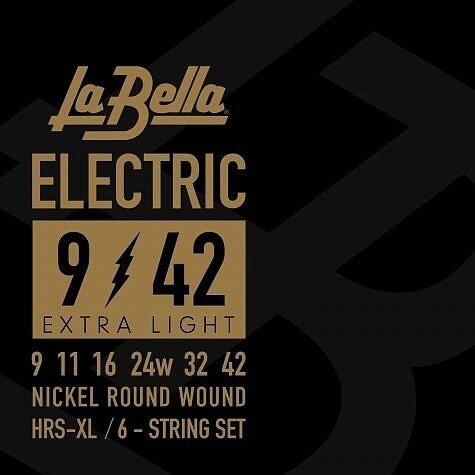 La Bella - HRS XL Rock Extralight 9-42