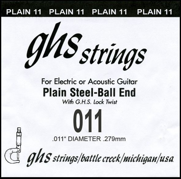 GHS - DY011P 011 plain Ball End