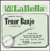 La Bella - SET720L Tenor Banjo Light
