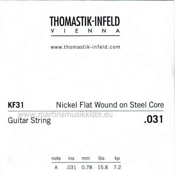 Thomastik - KF31 A5 aus KF110 Flat Wound