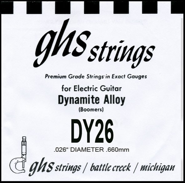 GHS - DY26 Boomers nickel wound 026
