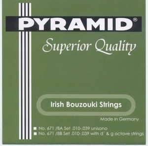 Pyramid - 671 8A Bouzouki irish 8-saitig