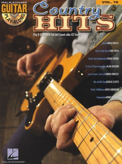 HAL LEONARD - HL00699884 GPA Vol 76 Country
