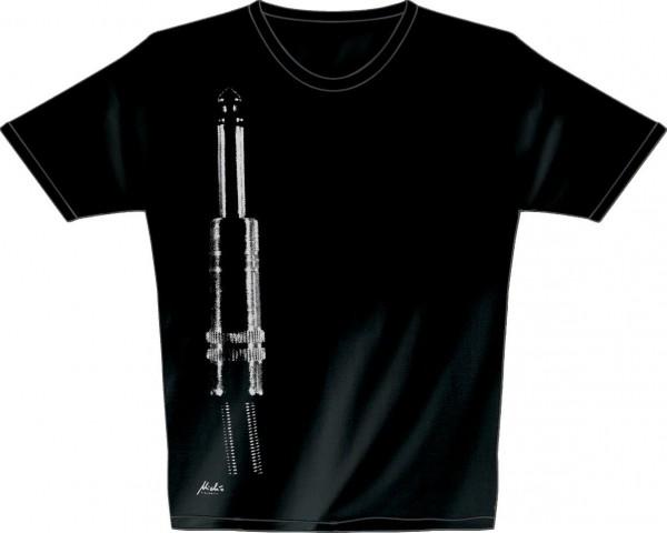 Rock You - T-Shirt schwarz Crew M