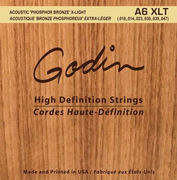 Godin - A6 XLT Phosphor Bronze 10-47