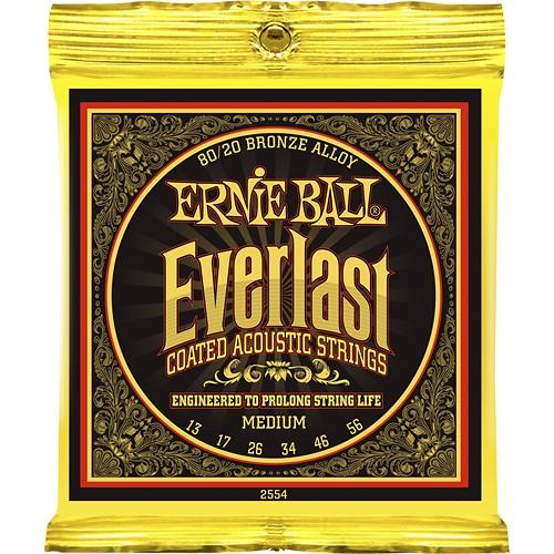 Ernie Ball - EB2554 Everlast Coated 13-56