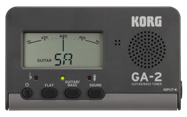 Korg - GA-2 Stimmgerät Gitarre Bass