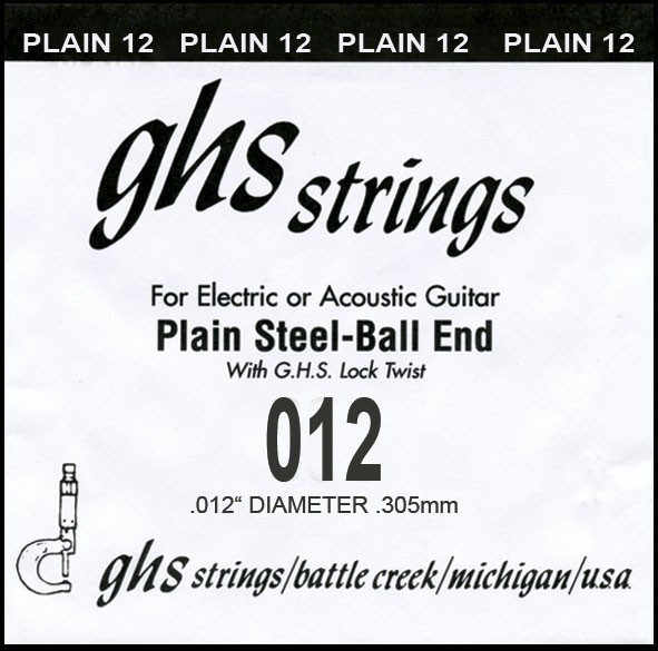 GHS - DY012P 012 plain Ball End