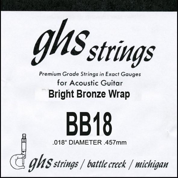 GHS - BB18 Bright Bronze 018 wound