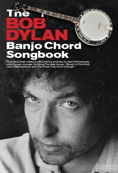 Wise Publications - AM1008271 Bob Dylan Banjo