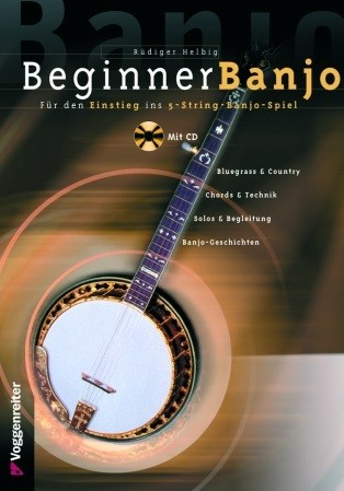 VOGG3941 Beginner Banjo mit CD