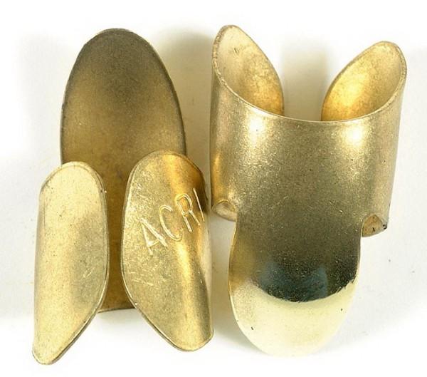 Fingerpick Brass Medium 2Stück
