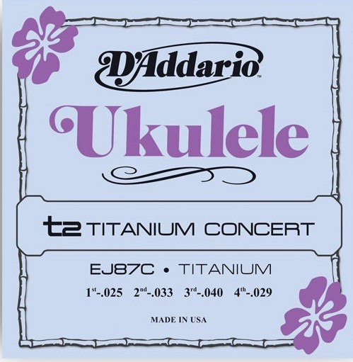 DAddario - EJ87C t2 Titanium Concert