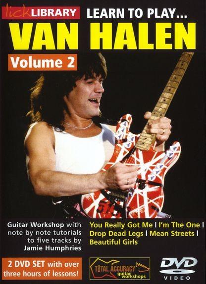 HAL LEONARD - RDR0374 Learn toplay Van Halen