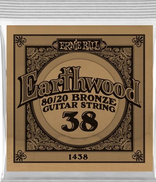 Ernie Ball - EB1438 Earthwood Bronze 6 Stk
