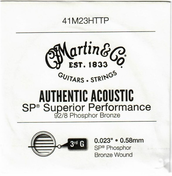 Martin - 41M23HTTP 023 Ph B Einzelsaite