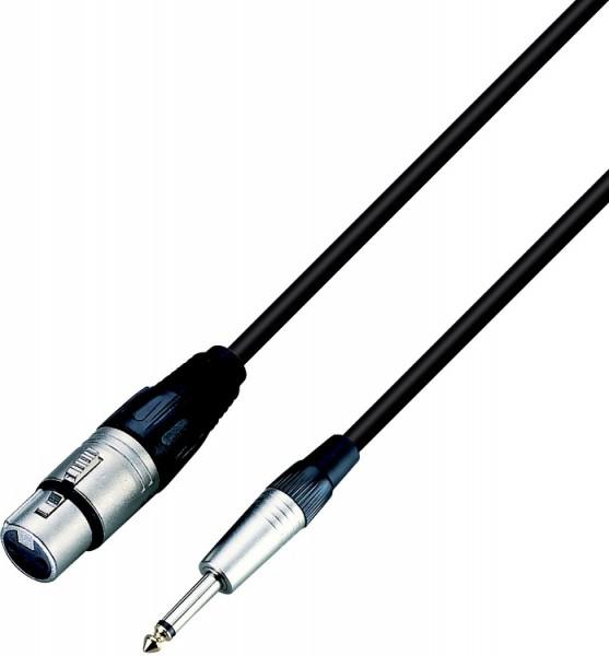 Roxtone - Mikrofonkabel 9m XLR/Klinke