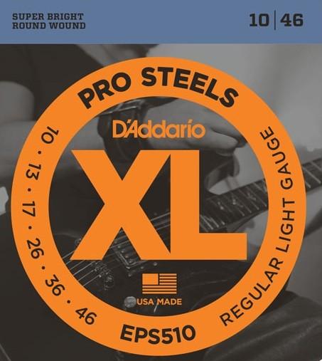 DAddario - EPS510 Pro Steels Reg light
