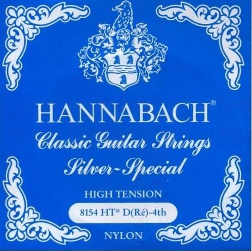 Hannabach - 8154HT D4 Silver Special blau