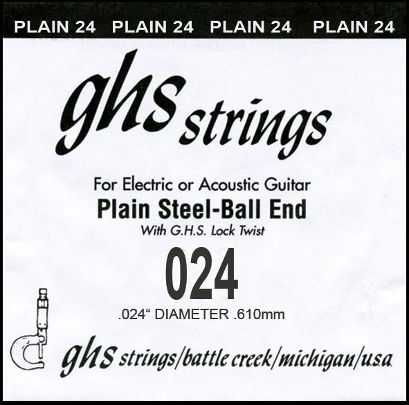 GHS - DY024P 024 plain Ball End
