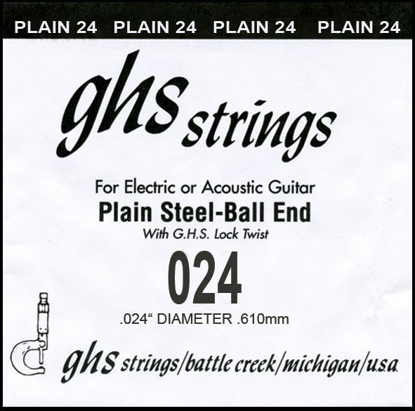 GHS - DY024P 024 plain Ball End