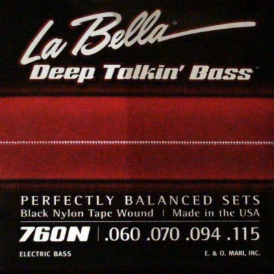 La Bella - 760N Deep talkin Bass