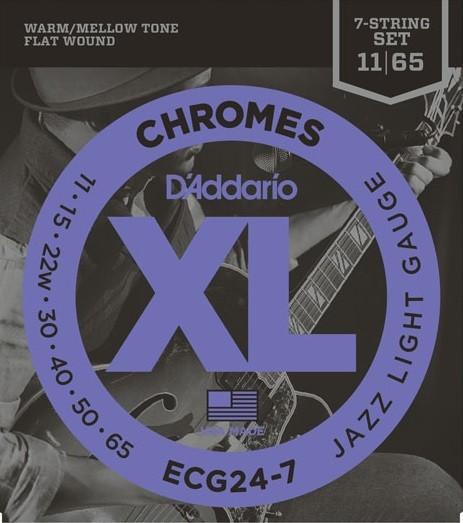 ECG247 Chromes Flatwound 11 7S