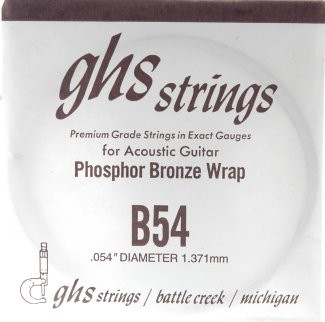 GHS - B54 Phosphor Bronze wound