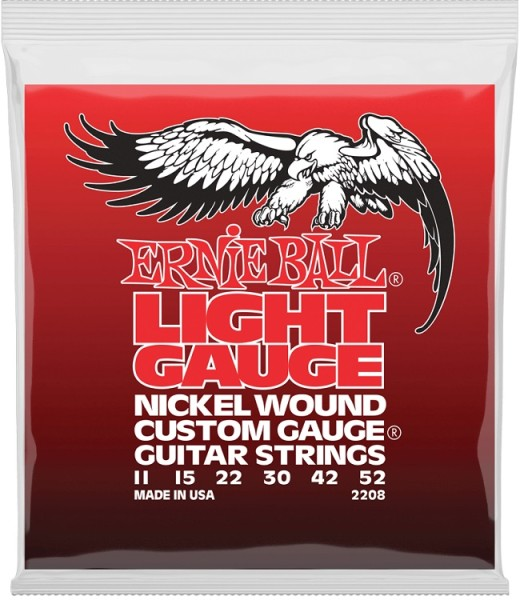 Ernie Ball - EB2208 Nickelwound Light