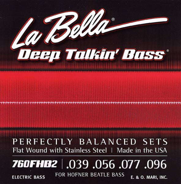 La Bella - 760FHB2 Beatle Bass