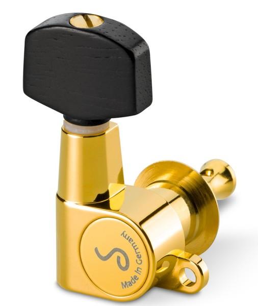 M6 mini gold 3L 3R Ebenholz