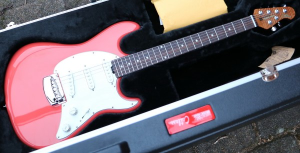 Cutlass SSS Coral Red RW Neck