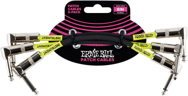 Ernie Ball - EB6050 Patchkabel 3er Pack WK