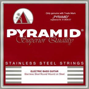 Pyramid - S824 Short Scale Round Wound