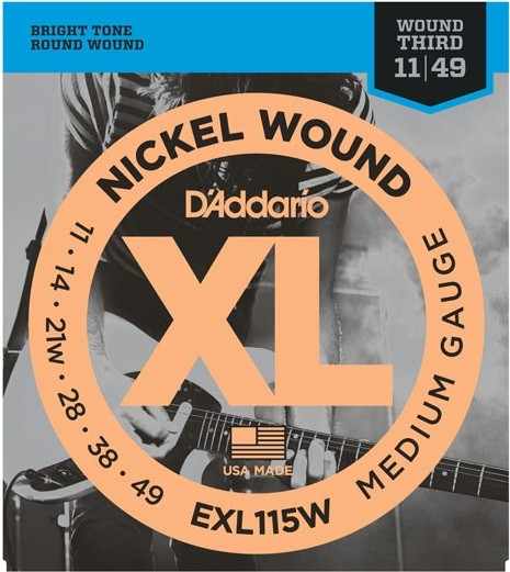 DAddario - EXL115W Nickel Wound Jazz