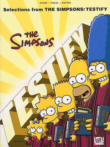 HAL LEONARD - HL00313392 Simpsons Testify