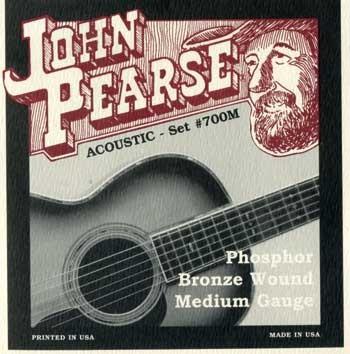 John Pearse - 700M Phosphor Bronze