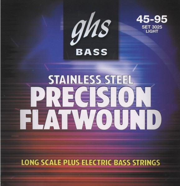 GHS - 3025 45-60-75-95 Flatwound