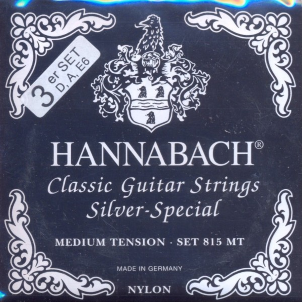 Hannabach - 8157MT 3er Bass Silver Special