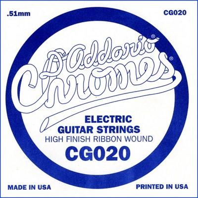 CG020 flatwound ES Chromes