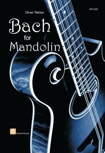 Schell Music - SM5620 Bach for Mandolin