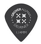 GroverAllman - JazzXL Delrinex Black 1.14mm