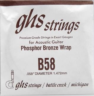 B58 Phosphor Bronze wound