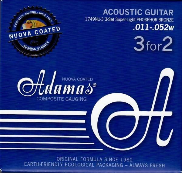 Adamas - 1749NU 3er Pack Ph.Br. Coated