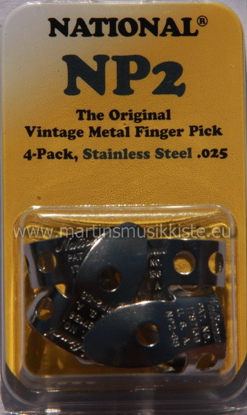 National - NP2Stainless Pick 4er Pack