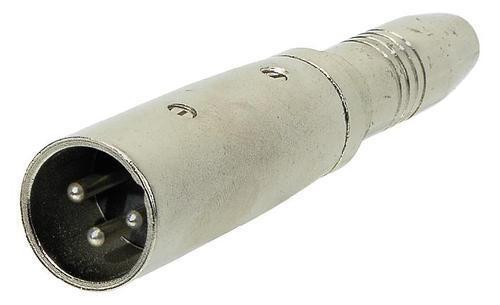 DIV - Adapter XLR male/Klinkenbuchse
